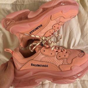 Pink Balenciaga's